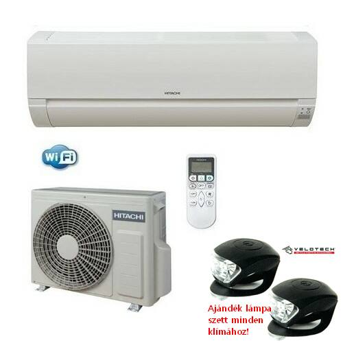 Hitachi RAK18 PED inverteres klíma 2kW