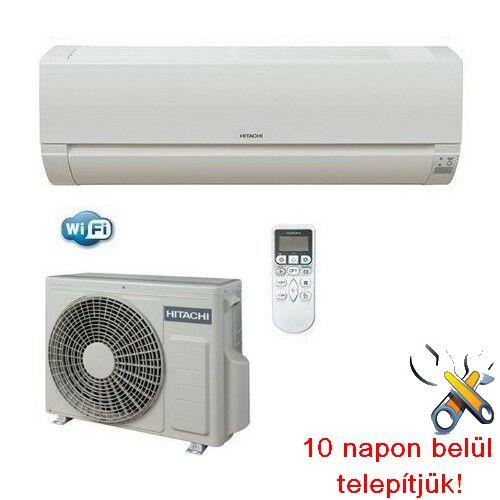 Hitachi RAK25 PED inverteres klíma 2,5kW