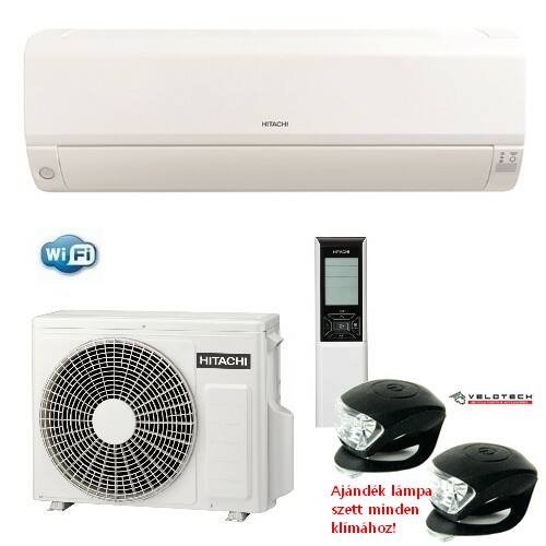 Hitachi RAK35 RPE inverteres klíma 3,5kW