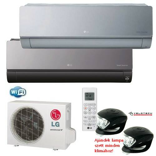 LG AC09BQ ART COOL inverteres klíma 2,5 kW, hűtő-fűtő