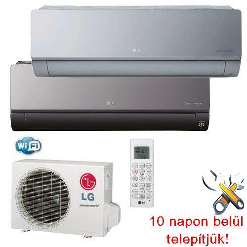 LG AC18BQ ART COOL inverteres klíma 5 kW, hűtő-fűtő