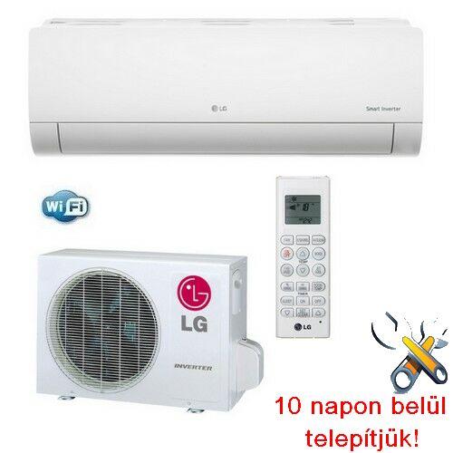 LG PC09SQ Silence Plus inverteres klíma 2,5 kW, hűtő-fűtő