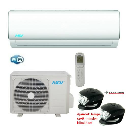 MIDEA-MDV RAG-026B-SP inverteres klíma 2,6 kW, hűtő-fűtő