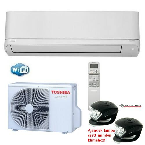 TOSHIBA 18PKVSG-E SUZUMI PLUS  inverteres klíma 5 kW