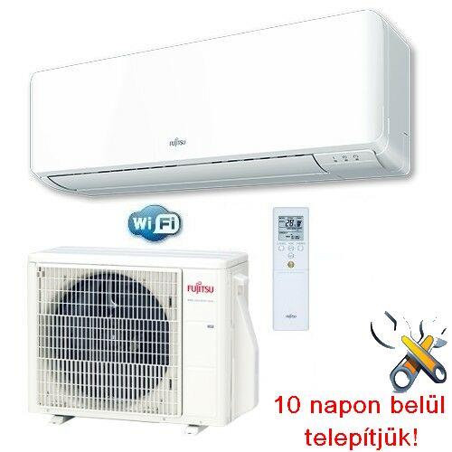 FUJITSU ASYG24KMTA/AOYG24KMTA inverteres klíma 7,1 kW, hűtő-fűtő