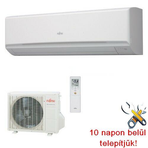 FUJITSU ASYG30LMTA/AOYG30LMTA inverteres klíma 8,0 kW, hűtő-fűtő szerver klíma