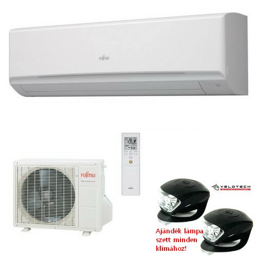 FUJITSU ASYG36LMTA/AOYG36LMTA inverteres klíma 9,4 kW, hűtő-fűtő szerver klíma