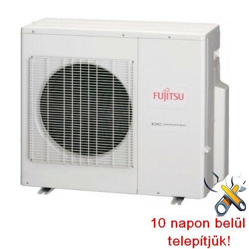 FUJITSU AOYG30LAT4 multi-4 inverteres klíma 8,0 kW, hűtő-fűtő, kültéri egység (új G-s beltérikhez)