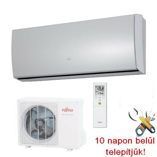 FUJITSU ASYG09LTCA/AOYG09LTC inverteres klíma 2,5 kW, hűtő-fűtő