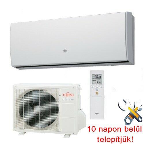 FUJITSU ASYG09LUCA/AOYG09LUC inverteres klíma 2,5 kW, hűtő-fűtő