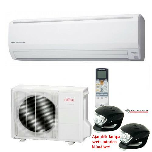 FUJITSU ASYG18LFCA/AOYG18LFC inverteres klíma 5,2 kW, hűtő-fűtő