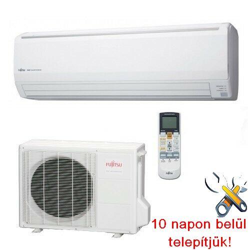 FUJITSU ASYG24LFCC/AOYG24LFCC inverteres klíma 7,1 kW, hűtő-fűtő