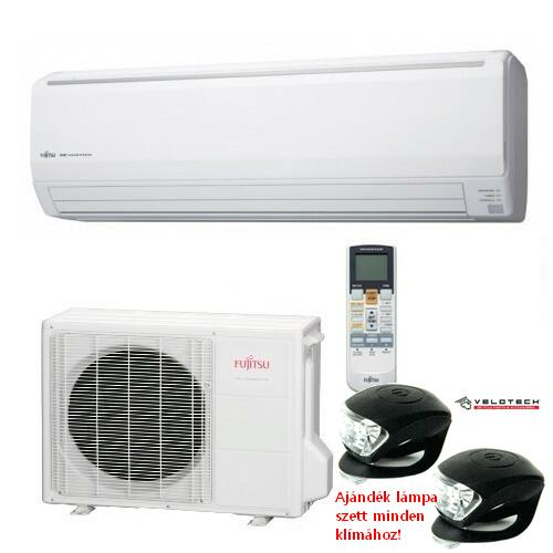 FUJITSU ASYG30LFCA/AOYG30LF inverteres klíma 8,0 kW, hűtő-fűtő
