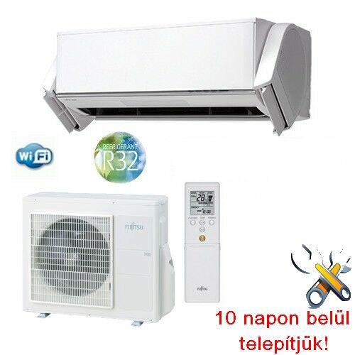 FUJITSU ASYG09KXCA/AOYG09KXCA Nocria-X inverteres klíma 2,5 kW, hűtő-fűtő