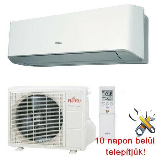FUJITSU ASYG12LMCE/AOYG12LMCE inverteres klíma 3,4 kW, hűtő-fűtő