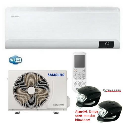 Samsung Cebu AR12TXFYAWKNEU 3,5kW-os inverteres klíma szett