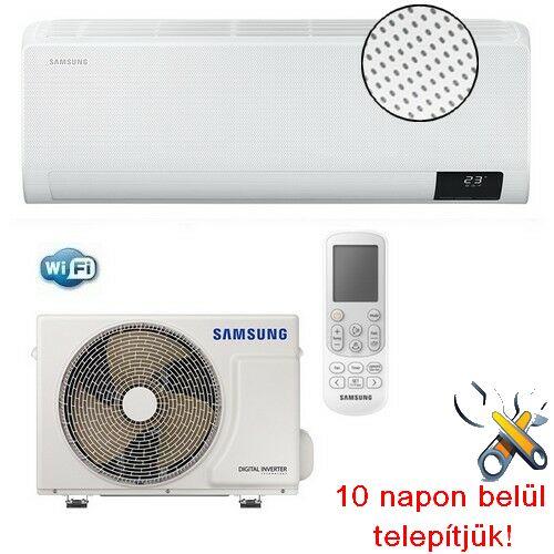 Samsung Wind-Free Comfort AR09TXFCAWKNEU 2,5kW-os inverteres klíma szett
